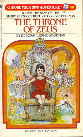 The Throne of Zeus by Deborah Lerme Goodman
