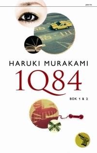 1Q84 bok 1 & 2 by Haruki Murakami
