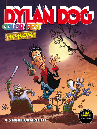 Ebook Dylan Dog Color Fest n. 4 by Tiziano Sclavi DOC!