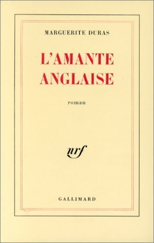 Lamante anglaise by marguerite duras 875905 fandeluxe Choice Image