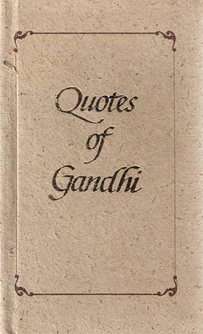 The Words Of Gandhi Book