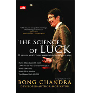 The Science of Luck by Bong Chandra