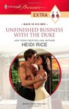 Unfinished Business with the Duke by Heidi Rice