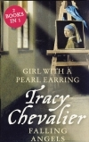 Girl with a Pearl Earring/Falling Angels Duo by Tracy Chevalier