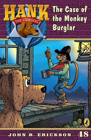 The Case of the Monkey Burglar by John R. Erickson