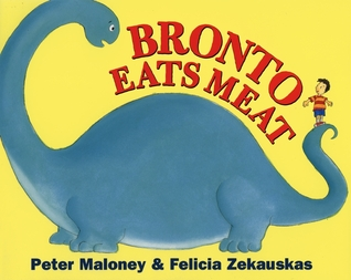 Bronto Eats Meat by Peter Maloney