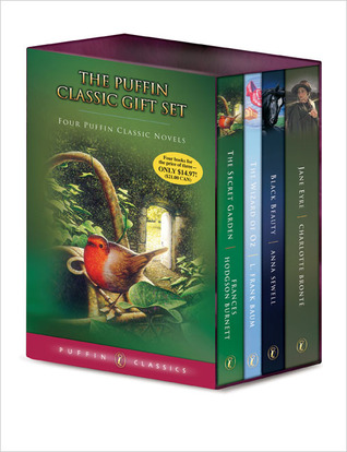 Puffin Classic Gift Set: The Secret Garden / The Wizard of Oz / Black Beauty Jane Eyre