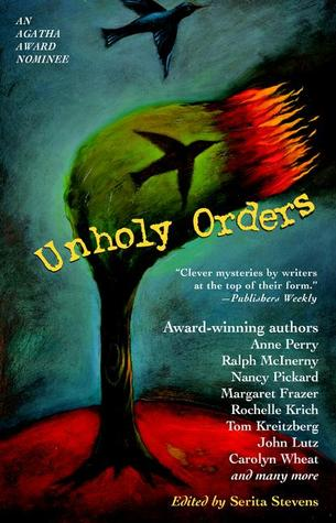 Unholy orders : mystery stories with a religious twist(Caroline Canfield Mysteries 2.5)