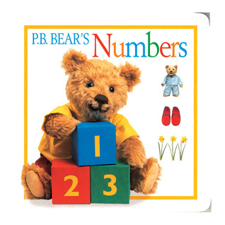 P.B. Bear Board Book: Numbers