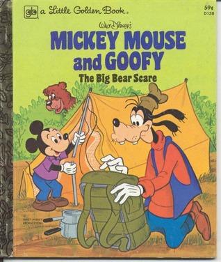The Big Bear Scare (Little Golden Book)