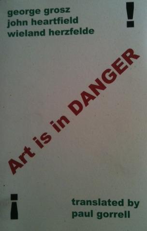 Art is in Danger by George Grosz