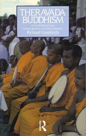 Gombrich Theravada 1988 cover art