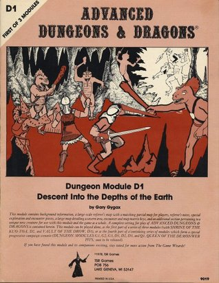Descent Into the Depths of the Earth (Advanced Dungeons & Dragons module D1)
