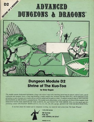 Shrine of the Kuo-Toa (Advanced Dungeons & Dragons module D2)