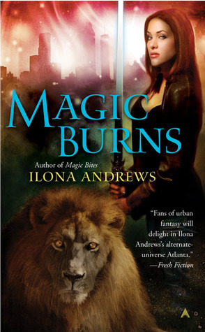 Review: Magic Burns (Kate Daniels #2) by Ilona Andrews