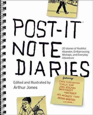 Post-it Note Diaries by Arthur Jones