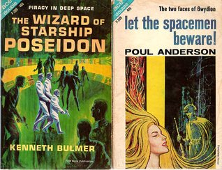 Let the Spacemen Beware! / The Wizard of Starship Poseidon (Ace Double, F-209)