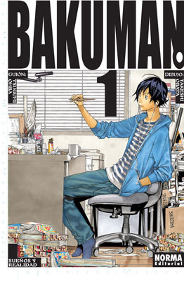 Bakuman 01 by Tsugumi Ohba