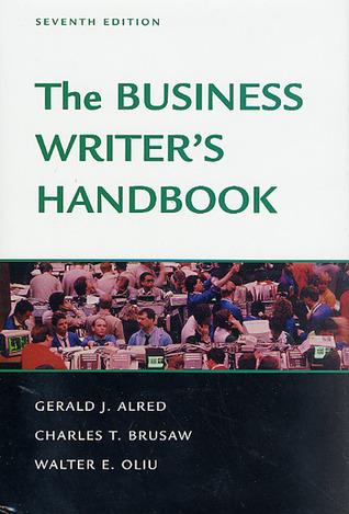 The Business Writer's Handbook, Seventh Edition