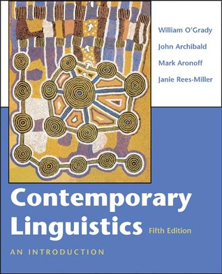Contemporary linguistics an introduction by william d ogrady contemporary linguistics an introduction fandeluxe Choice Image