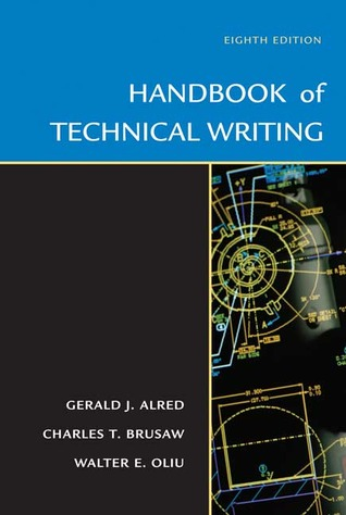 Handbook of technical writing by gerald j alred 985040 fandeluxe Image collections