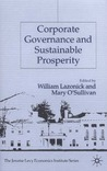 Corporate Governance and Sustainable Prosperity