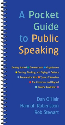 A pocket guide to public speaking by dan ohair fandeluxe Image collections