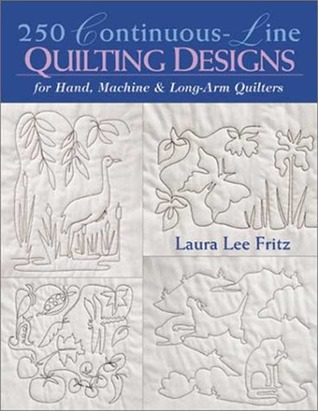 250 Continuous Line Quilting Designs For Hand Machine Long Arm