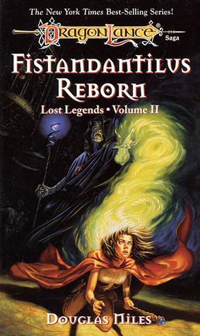 portada del libro Fistandantilus, de las leyendas perdidas de la dragonlance