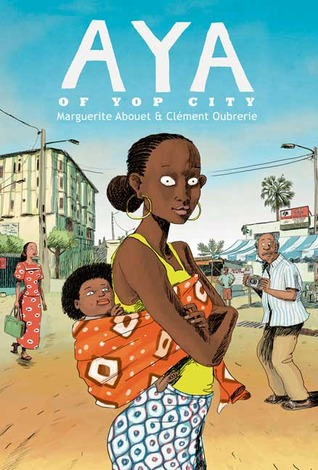 Arbeitsplatz chaos comic  Aya of Yop City (Aya #2) by Marguerite Abouet