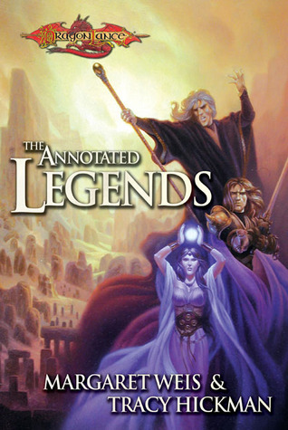 The Annotated Legends Book Cover