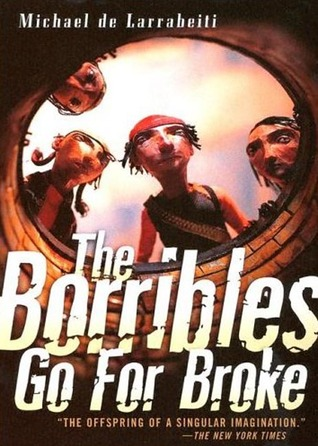 The Borribles Go For Broke by Michael de Larrabeiti