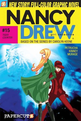 Tiger Counter (Nancy Drew: Girl Detective Graphic Novels, #15)