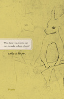 What have you done to our ears to make us hear echoes? by Arlene Kim