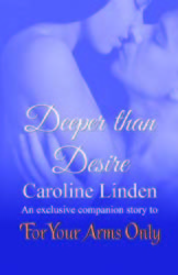 Deeper Than Desire(The Bow St. Agents: Spies in Love  2.5)