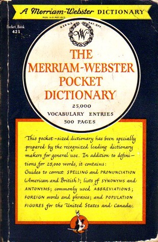 The Merriam-Webster Pocket Dictionary
