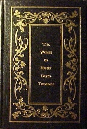 The Works of Henry David Thoreau