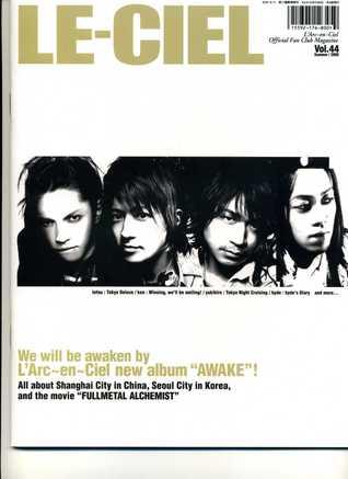 LE-CIEL, vol.44 (Official Fan Club Magazine) Summer 2005