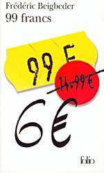99 francs by Frédéric Beigbeder