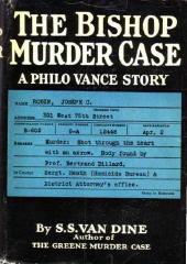 The Bishop Murder Case by S.S. Van Dine