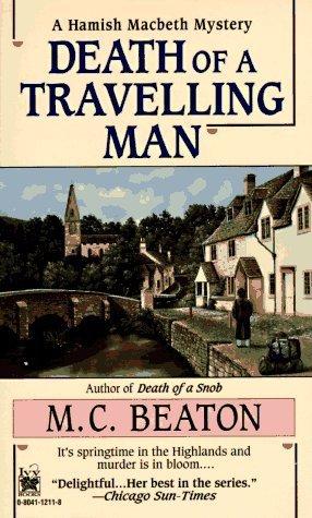Death of a Travelling Man (Hamish Macbeth, #9)