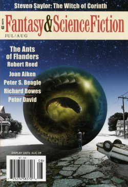 Fantasy & Science Fiction, July/August 2011 (The Magazine of Fantasy & Science Fiction, #696)