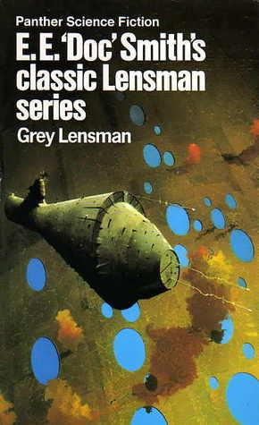 """Grey Lensman by E.E. """"Doc"""" Smith"""