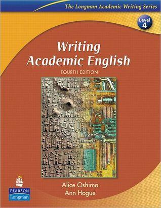 Writing academic english by alice oshima fandeluxe Choice Image