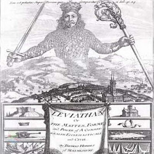 Leviathan or The Matter, Forme and Power of Common Wealth Ecc... by Thomas Hobbes