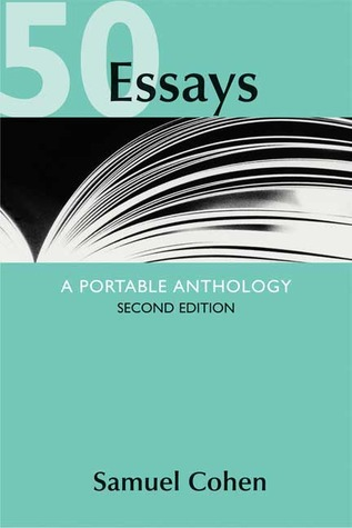 50 essays a portable anthology by samuel cohen