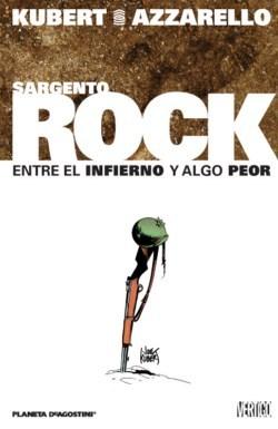 portada del cómic Sargento Rock: entre el infierno y algo peor