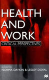 Health and Work: Critical Perspectives