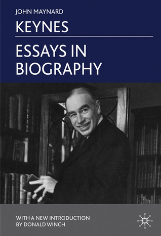 essays in biography by john nard keynes