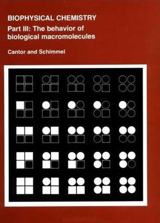 Descargar book to iphone gratis Biophysical Chemistry: Part III: The Behavior of Biological Macromolecules